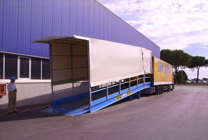 Rampe da piazzale for Rampe di carico per container